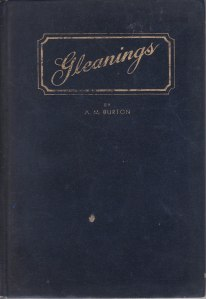 Gleanings Cover
