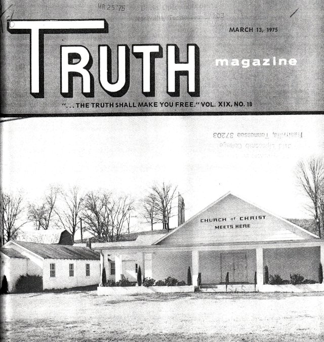 Millersville Truth Mag Cover